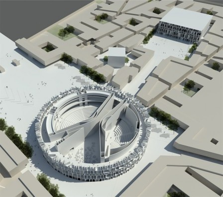 [Baghdad, Iraq] Assemblage Wins Iraqi Parliament Competition | The Architecture of the City | Scoop.it