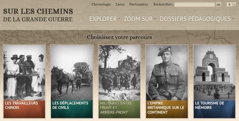 Exposition virtuelle : Sur les chemins de la Grande Guerre | La Grande Guerre | Scoop.it