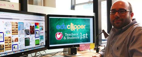 Teacherpreneur Spotlight: Adam Bellow, Former Teacher, eduClipper Founder (EdSurge News) | Edupreneur and Teacherpreneur News & Resources | Scoop.it