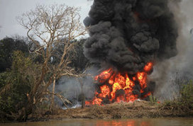 Nigeria's Illegal Oil Refineries - In Focus - The Atlantic | Africa: It's NOT a Country! | Scoop.it