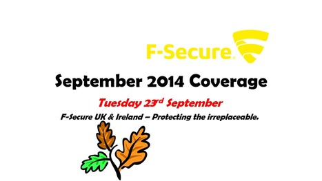 September Coverage (23rd) | F-Secure Coverage (UK) | Scoop.it