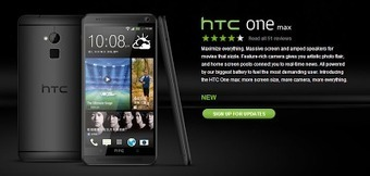 HTC One Max appeared in Black | Technology News | Scoop.it