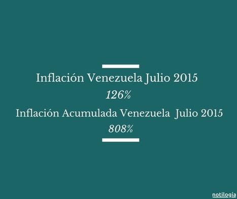 Inflación Acumulada Venezuela Julio 2015 (+Histórico) | Notilogia | Cooperación Universitaria para el Desarrollo Sostenible. MODELO MOP-GECUDES | Scoop.it