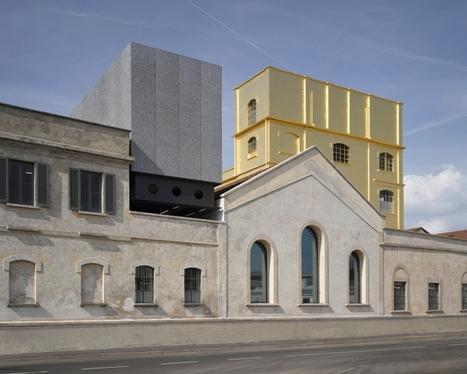 Fondazione Prada: apre la nuova sede a Milano nella ex distilleria Società Italiana Spiriti | Archeologia Industriale | Scoop.it