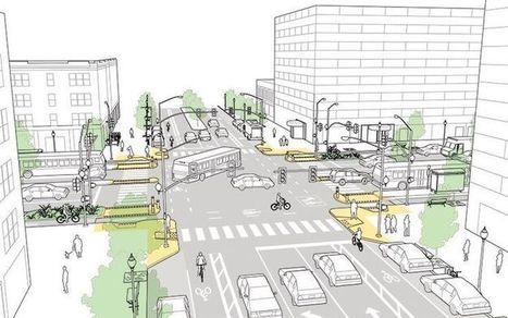 5 propuestas de intersecciones más seguras para diversos modos de movilidad | movilidad sostenible | Scoop.it