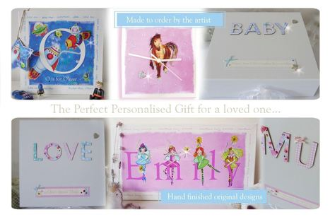 Personalised gifts for children | Personalised christening gifts | personalised gifts ideas | Sharon Plaston | Scoop.it
