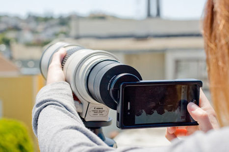 iPhone SLR Mount: Awesome? Ridiculous?   Gadgets I lust for   Scoop.it