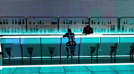 Tron: Uprising concepts and background paintings | liquid landscape | Scoop.it