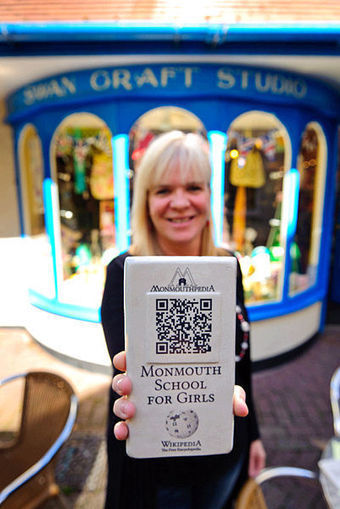 The World's First 'Wikipedia Town' - Great idea! #qrcode | MarketingHits | Scoop.it