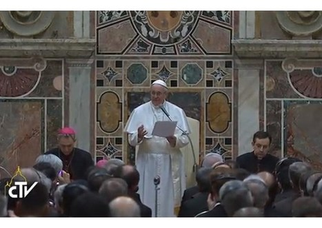 Pápež prijal misionárov milosrdenstva: Pred nami nie je hriech, ale ľutujúci hriešnik   Správy Výveska   Scoop.it