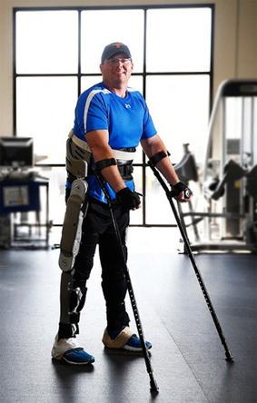 Inspirado por Scooter Segway, el exoesqueleto Vanderbilt pone de pié a los paralíticos | healthy | Scoop.it