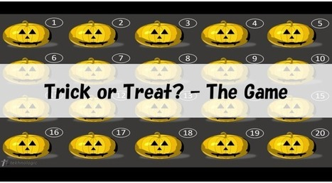 Trick or Treat? - The Game   sites for efl teachers   Scoop.it