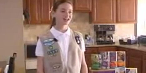 WOW! Girl Scout Sets Cookie Record | Troy West's Radio Show Prep | Scoop.it