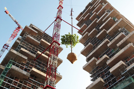 Bosco Verticale: The World's First Vertical Forest Nears Completion in Milan | city greening | Scoop.it