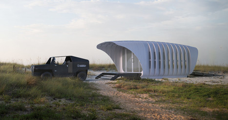 Tiny 3-D Printed Building Shares Its Energy With an (Also 3-D Printed) SUV | Want not, Waste not | Scoop.it