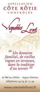 LE CÔTE-RÔTIE DES Vignobles LEVET | oenologie en pays viennois | Scoop.it