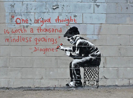 Banksy. A brand voice rich in storytelling | rethinking brand | Scoop.it