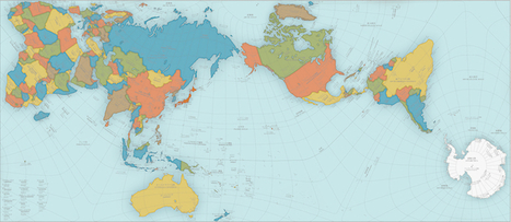 This World Map Is So Accurate It Folds Into a Globe | AP Human Geography | Scoop.it
