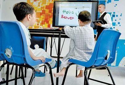 Niños hospitalizados siguen sus estudios en aula interactiva | Uso de dispostivos móviles en el aula. Enseñanza 2.0 | Scoop.it
