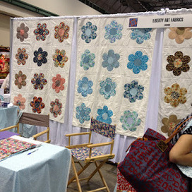 Quilt Market Day 1 | She Who Dies With The Most Fabric Wins | Scoop.it