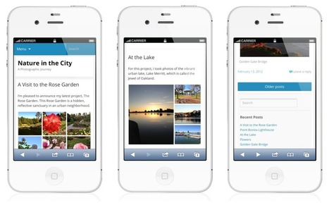 Mobile theme gets a facelift | Engineer Betatester | Scoop.it