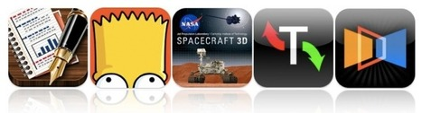 This Week's Must-Have iOS Apps: UX Write, Simpsons Comics, Spacecraft 3D & More [Roundup] | Cult of Mac | iPads, MakerEd and More  in Education | Scoop.it