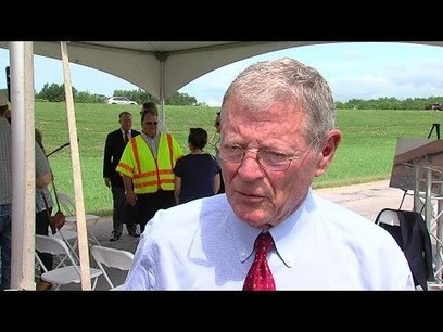Jim Inhofe: There is No Climate Change. My Gay Friends are Upset with the Supreme Court. | Sustain Our Earth | Scoop.it