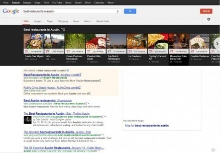 Google Local carousel display showing more frequently, in more categories | Word on the Street | Scoop.it