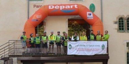 Saint-Pons : le tour en VTT du Parc du Haut-Languedoc est parti - Midi Libre | Parc régional du haut Languedoc | Scoop.it