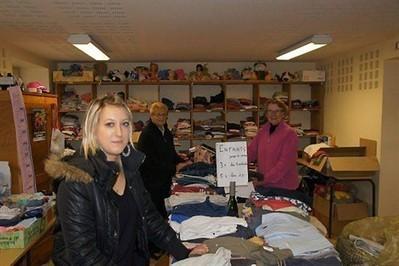 Adeline découvre l'organisation du Secours catholique , Saint-Nicolas-du-Pélem 14/10/2013 - ouest-france.fr | Action sociale en France | Scoop.it