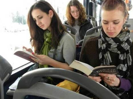 European city offers you a free ride if you read on the bus | Litteris | Scoop.it