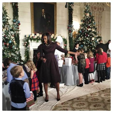 Photographing the White House Christmas Decorations With an iPhone 6 | Best of Photojournalism | Scoop.it