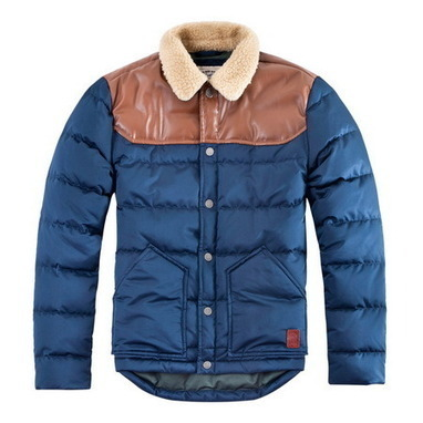 Contrast stitching Down Fill Jacket men from Vintage rugged canvas bags | Best mens style outlet | Scoop.it