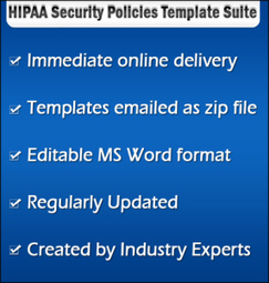 HIPAA Security Policy & Procedures Templates | Online HIPAA Training Resources | Scoop.it