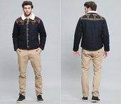 Retro Jacquard trims woolen coats for men | Best mens style outlet | Scoop.it