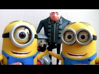 Despicable Me 2 Toys NEW FART Toy, Action Figure, Talking Minion Dave, Talking GRU & Stuart Car - Toys And Games Win | Nothing But News | Scoop.it