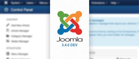Joomla 3.4 le représentant du futur ! | Autour du CMS Joomla | Scoop.it