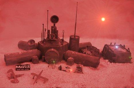 Ecco come funziona la Base Alfa su Marte - Data Manager Online | Marte | Scoop.it
