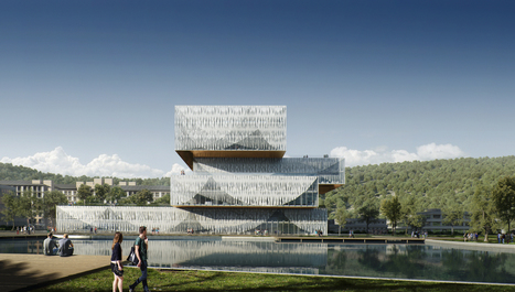 Schmidt Hammer Lassen Wins Competition for New Student Center and Library in China | retail and design | Scoop.it