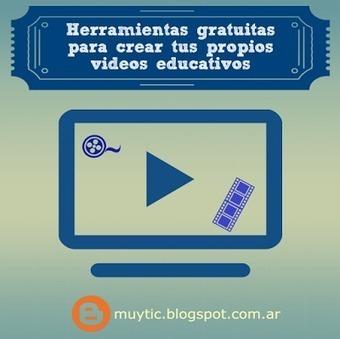 4 herramientas gratuitas para crear tus propios videos educativos | TIC para la educación | TICs, tablets y otros gadgets en educación. | Scoop.it