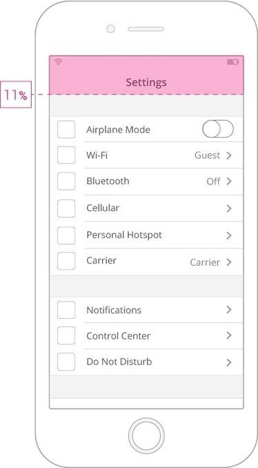 The UX of Mobile Settings | Setentaydos | UX-UI design | Scoop.it
