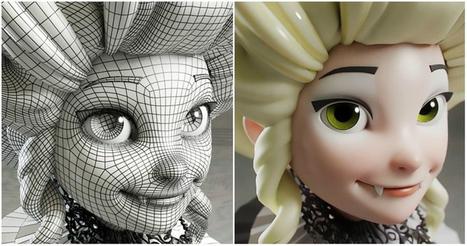 Mejores web de recursos para artistas del 3D | ARTE, ARTISTAS E INNOVACIÓN TECNOLÓGICA | Scoop.it