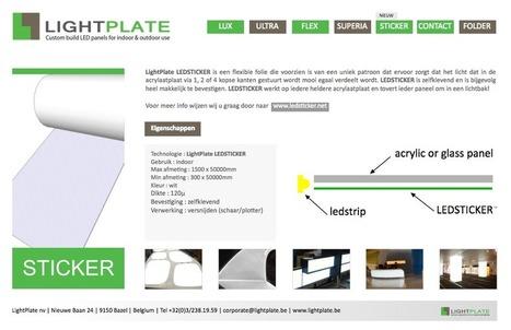 Ledsticker te zien op Sign2Com - Blokboek - Communication Nieuws | BlokBoek e-zine | Scoop.it