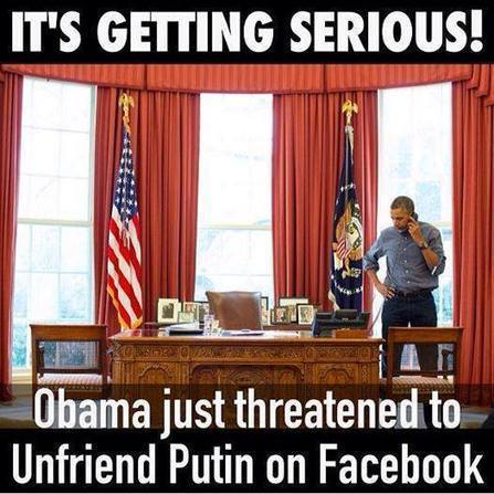 Obama shoved to sidelines as Russia ignores U.S. threats of isolation | Restore America | Scoop.it