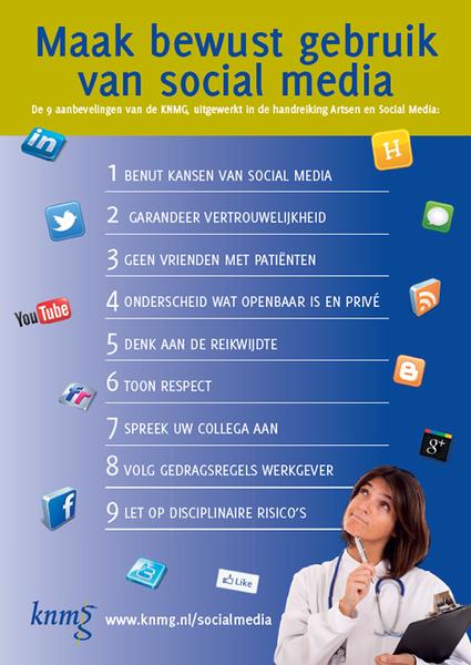 KNMG publiceert handreiking social media voor artsen | Medisch onderwijs : innovatie door technologie | Scoop.it