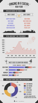 SOcial New Year 2013 | Infographics 101 | Scoop.it