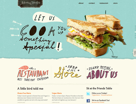 10 Creative Large Typography Sites Where Size Matters | SwiftGraphics | Scoop.it