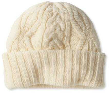 Isotoner Women's Ladies Irish Cable Cuff Hat, Ivory, One Size - Skullies Beanies Hats Trend Fashion   My Notes   Scoop.it