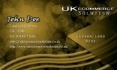 Business card template Fearless | Cheap Business Cards | UK Ecommerce Software Solutions | Online Shopping cart | Scoop.it