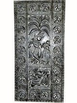 Decorative India Wood Carving Wall Panels Krishna Carved Door Panels 72 X 36 Inch | Mogul Interior | Vintage Style Decor With Antique Furniture | Scoop.it